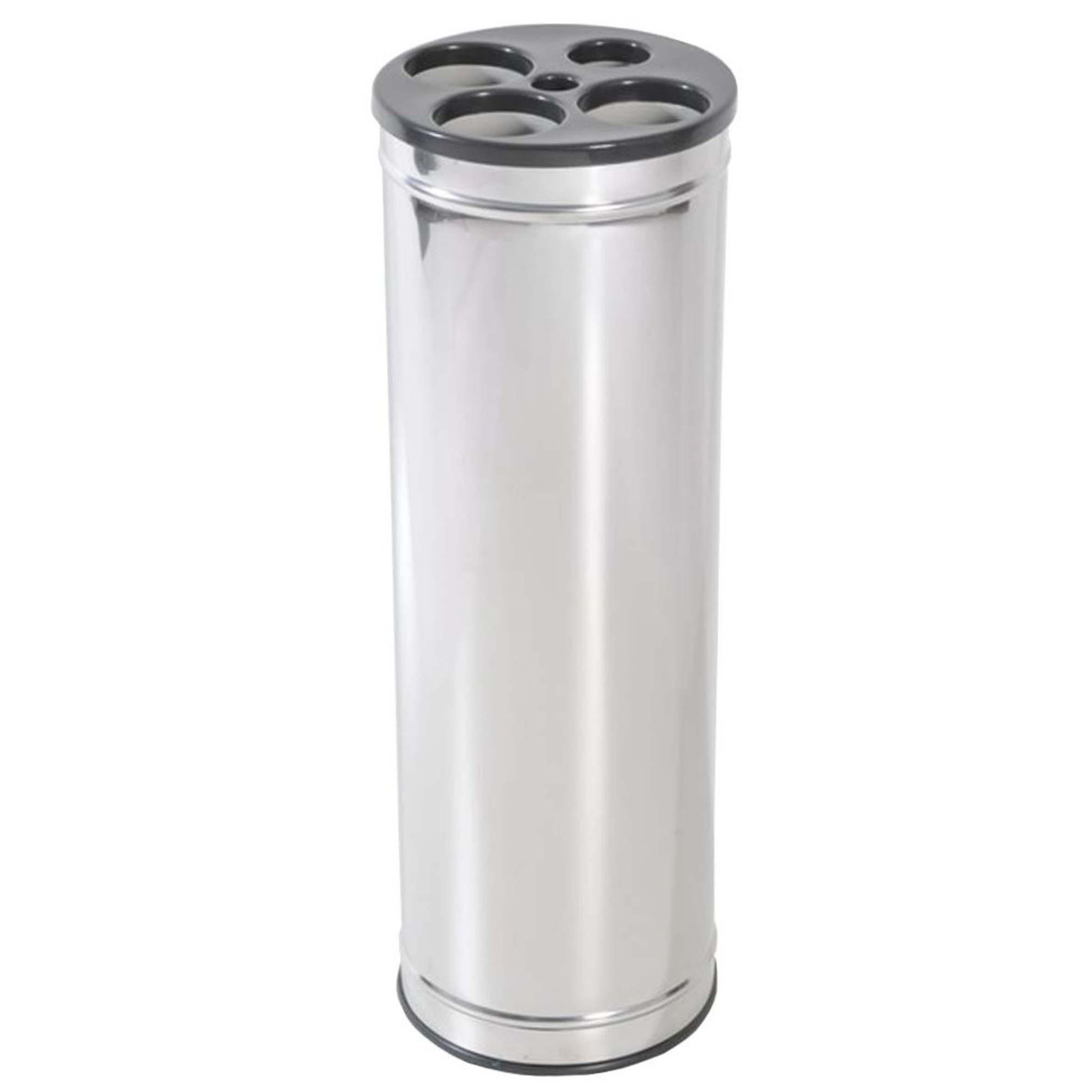 Dispensador de Copos em Aço Inox com Tampa Plástica - JSN