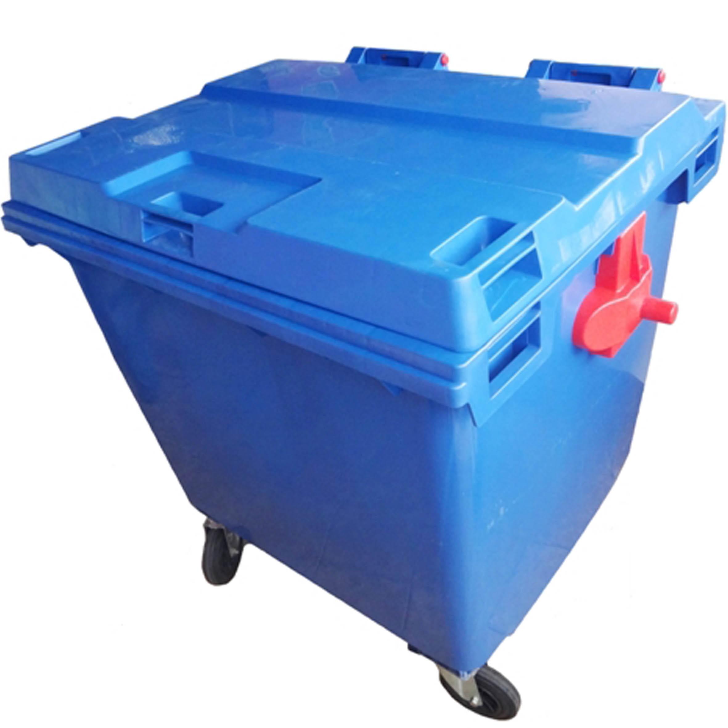 Contêiner Plástico com Rodas 1000L - JSN
