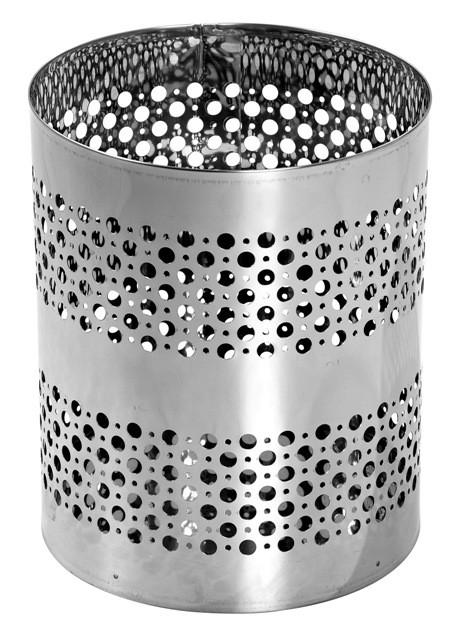 B8 - Cesto Telado em Aço Inox 20 Litros