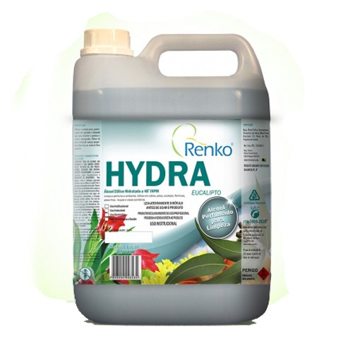Hydra Alcool Perfumado para Limpeza Geral - Renko