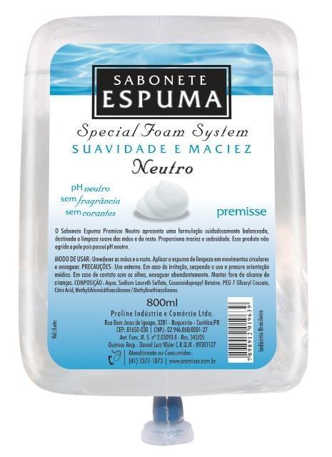 Sabonete Espuma Anti-Séptico Neutro - Premisse