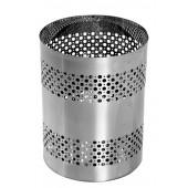 B9 - Cesto Telado em Aço Inox 40 Litros