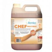 Chef Multibac Detergente Desinfetante Concentrado - Renko